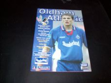 Oldham Athletic v Bristol Rovers, 1999/2000